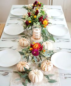 19 Festive Fall Table Decor Ideas That Will Last Until Thanksgiving
