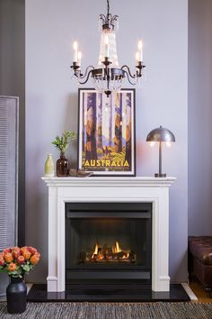 Lux Premium Fascia With Hood, Detail Polished | Gas fireplace ...
