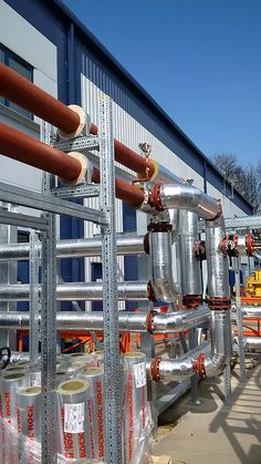 QMEXX modular Pipe Support System by Midland Fixings.
