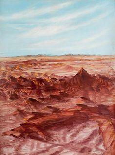 Sidney Nolan (1917-1992) Central Australian Desert, 1950