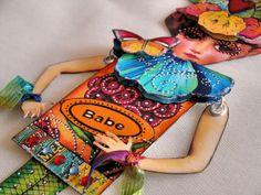 Pringle Hill Studio: My Art Doll