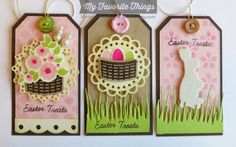 Easter Bunny, Easter Bunny Die-namics, Pierced Traditional Tag STAX Die-namics, Tall Grassy Edge Die-namics, Traditional Tags STAX Die-namics - Melody Rupple #mftstamps