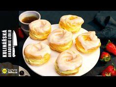 Poleva na věnečky a punčový řez - Roman Paulus - Kulinářská Akademie Lidlu - YouTube Lidl, Roman, Menu, Pudding, Youtube, Party, Food, Menu Board Design, Meal