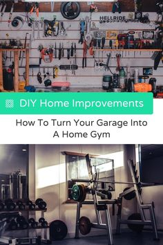 We're going to give you DIY tips on how you can turn your garage into a gym and get your gains back on once again.