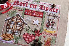 Английский стиль: Noel en Alsace или вышивка в стиле Рустик.