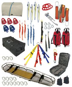 Rope rescue and carryouts