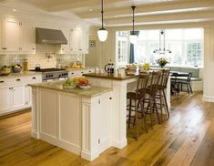 White Kitchen Cabinet Color And Design Ideas Best House Design Ideas. Pictures Of Kitchens Traditional White Kitchen Cabinets Page Kitchen Design White Cabinets Home Design Roosa. New Modern Kitchen Design With White Cabi Kitchen Island With Seating For 6, Kitchen Island With Cooktop, Kitchen Layouts With Island, Kitchen Island Bench, White Kitchen Island, Kitchen Tops, White Kitchen Cabinets, New Kitchen, Kitchen Islands