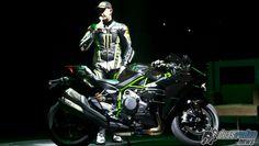 Kawasaki divulga Ninja H2 e outros cinco lançamentos para 2015