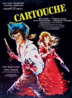 Cartouche Foreign Movie Poster