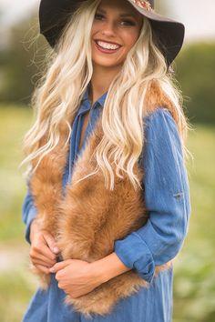 Lola Luxe Faux Fur Vest
