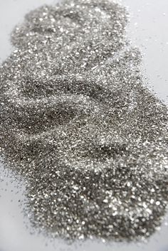 Pure Silver German Glass Glitter in silver or gold, 1 lb. bag for $16  {Save-On-Crafts}
