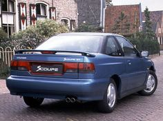 Hyundai Scoupe - Had a car just like this back in the good old days