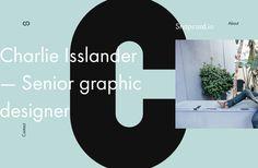 Personal portfolio of client work made by Charlie Isslander.