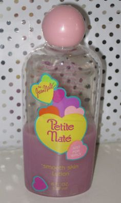 Still remember the commercials! Petite Nate gentle cloud bubbles just for you, shiny hair shampoo! Just for you!