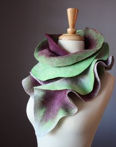 Felted scarf. Gorgeous