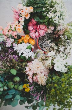 i'd love to try something with these flowers - but those peonies are so expensive!