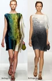 Hand dyed dresses are gorgeous wearable art! *yippee*