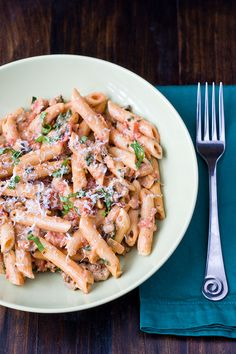 Creamy Tomato Chicken Pasta by Courtney | Cook Like a Champion