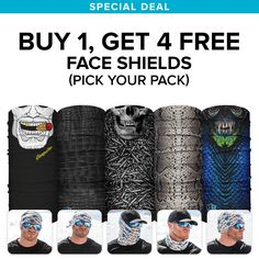 Buy 1, Get 4 Free | Pick Your Pack – SA TEAM