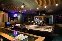 Assault & Battery 2's Main Control Room with a variety of monitoring systems including Yamaha NS-10M's and Dynaudio BM 15A's.