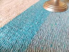 #alfombras tejidas en #telares