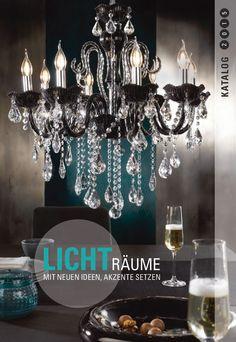 """Lasse dich von unserer aktuellen Kollektion aus unserem Leuchtenkatalog """"Lichträume"""" inspirieren und bringe Licht ins Dunkel. Hole dir mit deinen persönlichen Favoriten eine wohlige Atmosphäre in dein Heim. Unser Katalog bietet dir eine enorme Vielzahl an den unterschiedlichsten Styles und Designs – hier ist für jeden Geschmack etwas dabei!"""