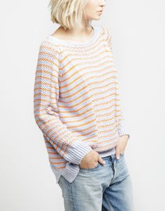Riviera Sweater by WOOL AND THE GANG
