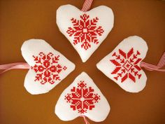 """A red and white Christmas"" on Etsy"