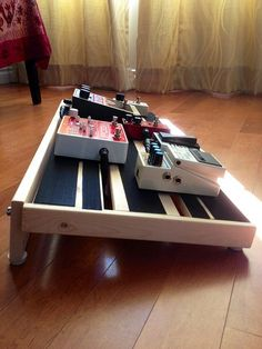 DIY Guitar pedal board for Frascone Guitar Pedal Board, Diy Guitar Pedal, Pedal Board Diy, Guitar Room, Music Guitar, Art Music, Acoustic Guitar, Guitar Effects Pedals, Guitar Pedals
