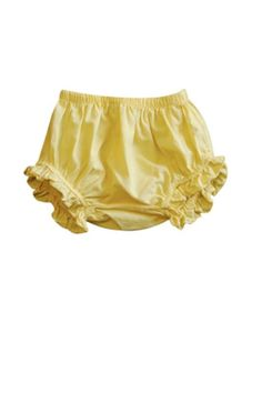 Go Gently Baby Lemon Drop Bloomers // at Darling Clementine