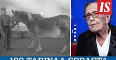 Sota-aikana armeijan käytössä oli tuhansia hevosia. Sairastuneita ja loukkaantuneita eläimiä hoidettiin kenttähevossairaalassa. Sellaisessa palveli myös liperiläinen Fanny Mönkkönen.