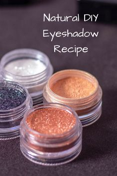 Eyeshadow: A Simple and Natural DIY RecipeYou can find Diy makeup and more on our website.Eyeshadow: A Simple and Natural DIY Recipe Diy Eyeshadow, Natural Eyeshadow, Simple Eyeshadow, How To Make Eyeshadow, Diy Beauté, Beauty Hacks For Teens, Natural Beauty Tips, Natural Blush, Beauty Guide