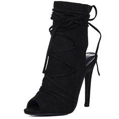 Peep-Toe High Heel Stilettoabsatz Stiefeletten Schuhe Synthetik Wildleder Gr 36 - http://on-line-kaufen.de/spylovebuy/36-eu-spylovebuy-angkor-damen-peep-toe-high-heel-2