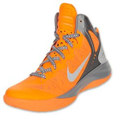 The Nike Zoom HyperEnforcer PE Men's Basketball Shoes are serious about the court and getting noticed. The shoes feature a newly designed Hyperfuse composite upper with a breathable net-like material. Stand out with a unique lined graphic on the ankle, a black midsole, and a monochromatic swoosh.