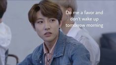 """""""We 𝑚𝑒𝑡 𝑏𝑦 𝑚𝑒𝑚𝑒𝑠."""" When Min Sora met a strange guy by a single text, read to find out their interesting story of memes! Meme Pictures, Reaction Pictures, Funny Kpop Memes, Bts Memes, Funny Quotes, Meme Faces, Funny Faces, K Pop, Current Mood Meme"""