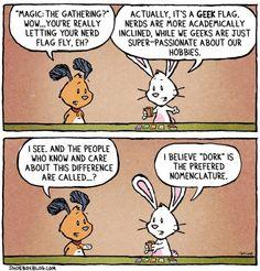 Nerds, geeks, w/e!