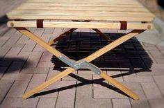 sotomono遊び:バイヤー イーストポート ロールトップ風 自作テーブル