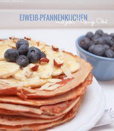 Eiweißpfannkuchen Pancakes Protein Pfannenkuchen sportler frühstück breakfast