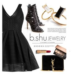 """BSHUJEWELRY.com"" by monmondefou ❤ liked on Polyvore featuring Yves Saint Laurent, Chanel and bshujewelry"