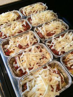 Easy Individual Mini Meat Lasagnas {Freezer-Friendly!} - Money Saving Mom®