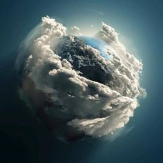 Our beautiful World through the lens of the Hubble telescope.