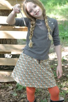 Fall Girls :: Tees - Blouses :: Marin Tee - $32.50 by Olive Juice