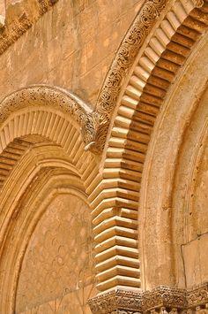 The Church of Holy Sepulchre Portico, Jerusalem, Israel Jerusalem, Arte Judaica, Israel Palestine, Israel Travel, Holy Land, Beautiful Buildings, The Covenant, Pilgrimage, Islamic Art