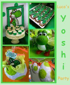 115 Mejores Imagenes De Yoshi Mario Birthday Party Super Mario