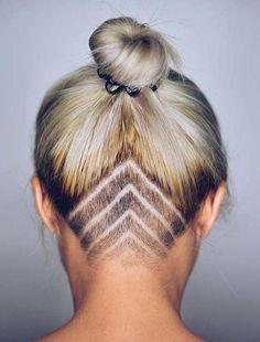 Beliebte Undercut Lange Frisuren Für Frauen Der Schlüssel zur Auswahl der richtigen undercut lange Frisuren für Frauen ist das richtige Verhä...