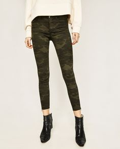 ZARA - COLLECTION SS/17 - MID-RISE BIKER TROUSERS