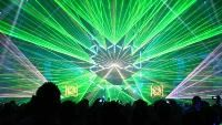 Firefeeder | Mind bending tron laser show in california