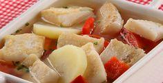 Sopa de pescado con papa