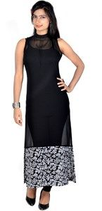 Vivaa Casual, Buy Vivaa Designer Georgette Partywear Long Kurti,Tunic, Top VNK-18 | Online Shopping India - Shop Online for Mobile Accessories,Clothing & More at Shoppyzip.com