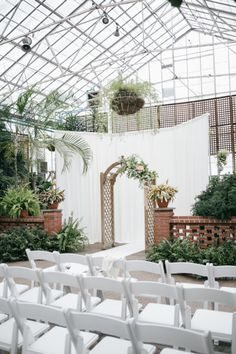 Horticulture venue: http://www.stylemepretty.com/pennsylvania-weddings/philadelphia/2015/01/16/romantic-pennsylvania-wedding-at-fairmount-park-horticulture-center/ | Photography: Emily Wren - http://emilywrenweddings.com/
